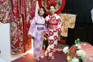台湾からお越しのお客様です💕御紹介でご利用頂きました👘浴衣を上品に着て頂きました\(^o^)/とても素敵です💕 來自台灣的客人們,體驗高雅的和服非常適合您們喔!