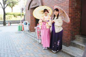御 #卒業 おめでとう㊗️ございます。 #卒業記念 に #袴プラン をお選び頂きました。ありがとうございます😊祝福の御言葉を皆様から頂いたそうです👘嬉しい事ですね😊