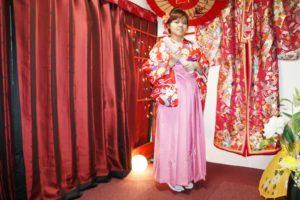 台湾からお越しのお客様です。お友達と袴プランをご利用いただきました。