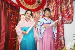 卒業式での #袴 をご利用いただきました。