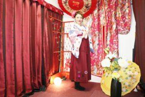 #撮影 で#袴 をご利用いただいた #モデル さんです。#華雅 ご利用ありがとうございます。