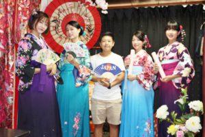 台湾からお越しのお客様です。卒業旅行で、袴プランをご利用頂きました。ありがとうございます💕 來自台灣的客人們,體驗袴服,謝謝你們,祝您們在這次旅行留下美好的回憶💕