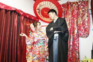 #ベトナム からお越しいただきました。日本でのプチ結婚式です。おめでとうございます。