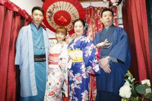 海外からお越しのご家族です。#伝統 の #和服体験 ありがとうございます。