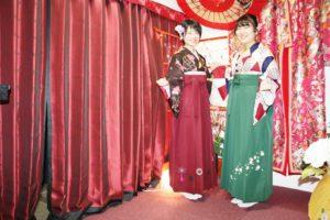 卒業式のシーズン!お二方とも袴スタイルが素敵です。