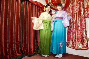 なかよしお友達とご一緒に、袴で浅草観光!