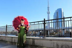 日本人好みのお着物、素敵でかわいいですね