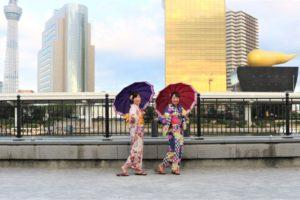 第2回、浅草雷門盆踊りにお出かけ!