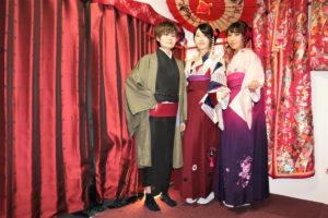 袴と着物体験、ありがとうございます。