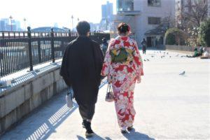 かわいい着物で浅草散歩!