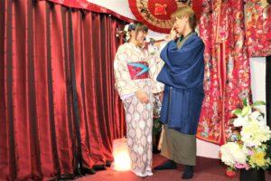 東京観光、浅草、和服デート