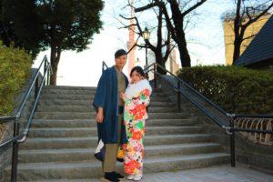 來自澳門的年輕夫妻! 看著他們幸福洋溢的樣子,令人不禁羨慕了起來!