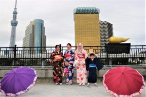 タイ、和服体験