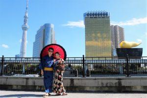 台灣來的客人穿上和服超美的!!