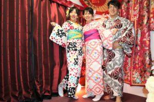 浴衣で三社祭にお出かけの台湾からのお客様。