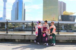 袴がお似合いの、台湾、美女