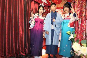 台湾からかわいい袴体験