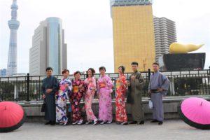 台湾、なかよし家族、着物体験