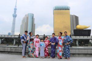 台湾、家族、浴衣