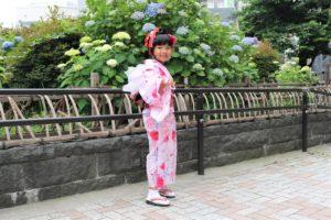 台湾の女の子です。兵児帯がかわいい!