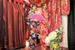 台湾から浴衣美人