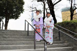 來自台灣的客人們,來淺草和服體驗