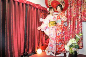 台灣女孩和服體驗!