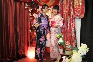 お嬢様,台湾、浴衣,東京観光。