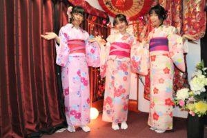 女子3人で台湾から浅草観光です。