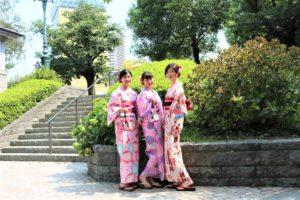 台湾から和服体験