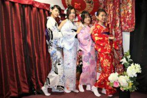 美女4人は台湾からのお客様
