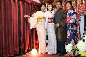 這家人來自台灣。