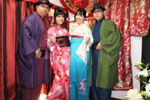 台湾から2回目のご利用です。袴に着物、素敵です。