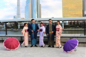 台灣好友相約一起體驗和服!