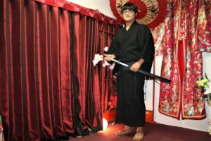 台湾的客人是不是很有日本男性架式啊!