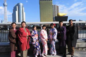 來自台灣的家族,謝謝您們來體驗喔!祝您們玩得開心喔