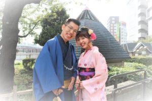 楽しい台湾からのカップル、可愛いい