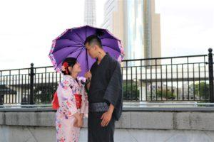 モデルさんのような可愛らしい台湾からのカップル