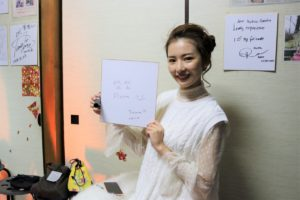 台湾の芸能界でご活躍の岱岱Floraさんです。
