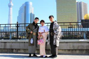 台湾 ご家族 写真