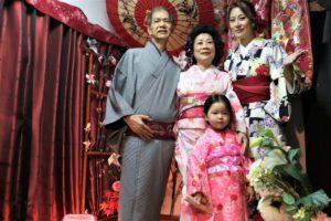 台湾、ご家族、和服体験