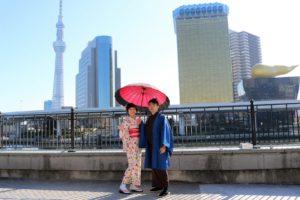 遇到日本節分撒豆活動,非常開心呢!