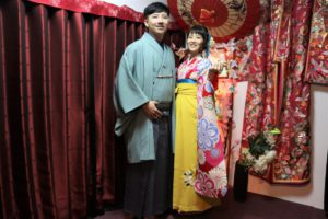 台湾 振袖 袴、男性 紳士 袴