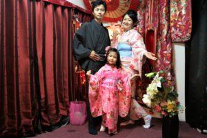 台湾、可愛らしいお子様、家族