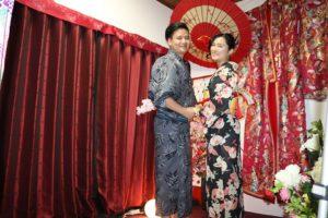 可愛的中國情侶檔!