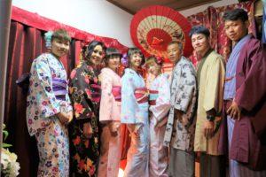 台湾からのご家族様です。來自台灣的家族客人,謝謝您們