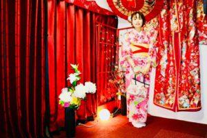 可愛い浴衣をお選びいただきました。日本旅行でいい思い出になりますね。 體驗可愛的浴衣一定是日本旅遊的美好回憶呢!