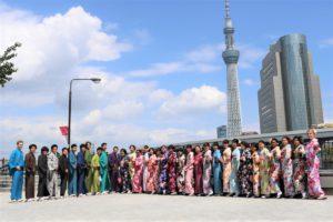 各国からの留学生33名