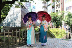 台灣美女穿上袴紀念畢業