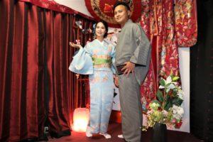 結婚の記念写真